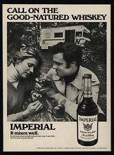 1973 WINNEBAGO Motor Home - IMPERIAL HIRAM WALKER Whiskey -  VINTAGE AD