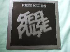 """Steel Pulse - Prediction.Original 1978 12"""" Vinyl Single.Vinyl In Ex.Cond.."""