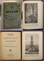 Hartleben Wien Illustrierter Wegweiser um 1900 Österreich Geografie Reise sf