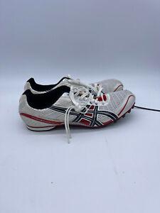 Asics Hyper MD 4 Men's Track Shoes Spikes -G101N Red/Black/White Size 10 NEW