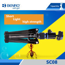 BENRO SC08 mini professional carbon fiber lightweight tripod kit