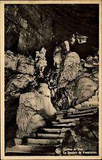 Grottes de Han Rochefort s/w AK 1951 Le Boudoir de Prosperine Inneres der Höhle