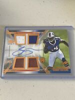 "2014 Topps Prime V SAMMY WATKINS ""rookie"" Patch, Auto /50 - Bills"