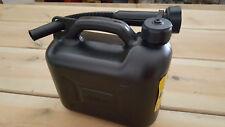 Kraftstoffkanister 5l Liter MMB Diesel und Benzinkanister-schwarz- HDPE Kanister