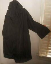 Moyuru Japan~ Art to Wear ~Boxy Quirky Double Zip Hooded Trench Coat Jacket O/S