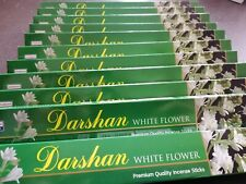 Darshana Incense Sticks with White Flower Fragrance Ceylon Free Shipping