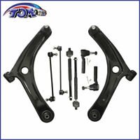 Brand New 8pcs Front Lower Control Arm Kit For Caliber Jeep Compass Patroit