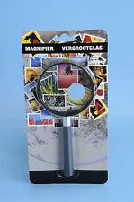 Leselupe Handlupe Lesehilfe Vergrößerungsglas Mini Lupe 70 mm 3 x Vergrößerung