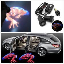 Car Door Led Welcome Laser Projector Logo Shadow Light Door Step Spiderman 2 X