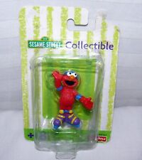 """Fisher Price Sesame Street ELMO Collectible Figure Hockey Player 2 1/2"""" Baby Toy"""