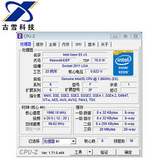Intel Xeon E5-2630L v3 ES LGA2011-3 8C Compatible with X99 i7-6850K 6900K QEYX