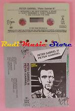 MC PETER GABRIEL III 1980 italy VIRGIN CDSK 74019 no cd lp dvd vhs