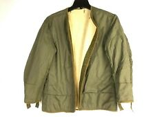 M-1951 Korean War US Army Wool Liner for Field Jacket Men's Sz Small Dated 1953
