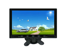 Ultra Thin 10.1'' HD 1024*600 TFT LCD HDMI VGA Audio Video Car Rear View Monitor
