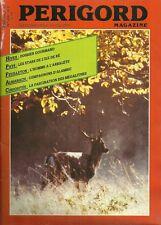 PÉRIGORD MAGAZINE N° 256 1987 - NONTRON + THIVIERS + VÉLO à l'île de RÉ + RUGBY