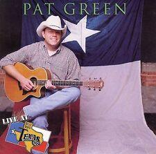 NEW Live at Billy Bob's Texas (Pat Green) (Audio CD)