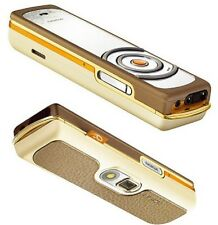 NOKIA 7380 Chaud Amber (Sans Simlock) fashion-phone 3,2mp mp3 radio Finland bien