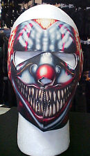 Winter Gear Full Face Mask Neoprene- Smoking Clown