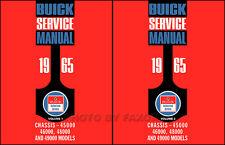 1965 Buick Shop Manual Riviera LeSabre Electra Wildcat Repair Service Book
