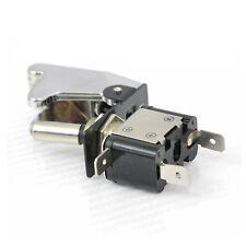 Interrupteur TOP GUN A LED 12V Tuning CHROME BLEU switch ON/OFF RACING
