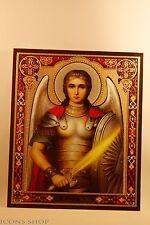 GUARDIAN ANGEL WITH SWORD CHRISTIAN ORTHODOX ICON  МИХАИЛ АРХАНГЕЛ ИКОНА