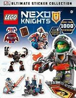 Lego Nexo Knights Ultimate Sticker Collection Story Book Scannable Shields New