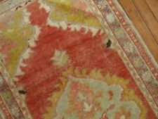 Vintage Gorgeous Turkish Oushak Rug Size 2'7''x5 39;