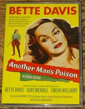 ANOTHER MAN'S POISON 1951 BETTE DAVIS RESTORED WITH ENGLISH SUBTITLES R1 DVD