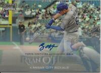 2019 Topps Stadium Club RYAN O'HEARN Autograph CHROME 03/10 Auto Royals RC