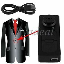 Mini Button Pinhole Spy Camera Hidden DVR PC Voice Camcorder 30fps Surveille #1