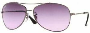 Ray Ban Junior Sunglasses Gunmetal Violet Gradient