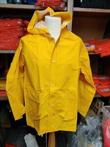 Trawlers Rainmaster  Waterproof jacket, Yellow large fisherman farm road workers