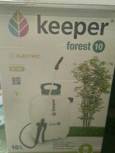 Pulverizador Graduado hidráulico eléctrico para cultivo Keeper Forest 10 Litros
