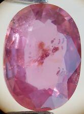 Saphir rose facetté de Tanzanie 2,00ct faceted pink unheated sapphire tanzania