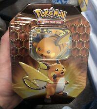 Pokemon TCG Hidden Fates Raichu GX Tin Brand New Factory Sealed