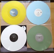 "HOUSE & DEEP HOUSE COLOURED VINYL 12"" RECORD COLLECTION DJ JOB LOT NEW CRAFT"