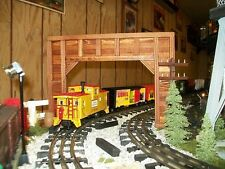 Model Railroad O Scale DOUBLE TRACK Timber Framed TUNNEL PORTALS / Trains
