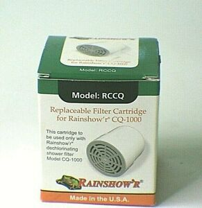 New Rainshow'r RCCQ Shower Replacement Filter Cartridge for CQ-1000 f1