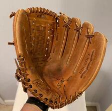 "Vintage 12-1/2"" Rawlings Leather Baseball Glove Ken Griffey Jr. Model RBG6BCF"
