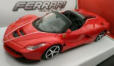 1/43 FERRARI LAFERRARI APERTA COLOR ROJO COCHE METAL ESCALA COLECCION DIE CAST