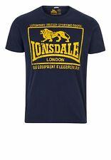 Lonsdale Camiseta Hombre Hounslow Camisa de Manga Corta Boxing S M L XL XXL 3XL