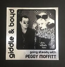 Boyd Rice & Giddle Partridge SIGNED Going Steady With Peggy Moffitt Album Art