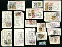Italy Early Revenue Stamp Lot