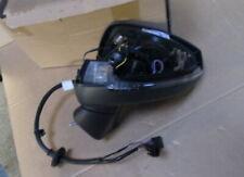 NEW GENUINE AUDI A3 LEFT DOOR MIRROR HOUSING POWER FOLDING 8V2857409J9B9