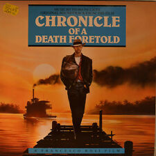"OST - SOUNDTRACK - CHRONIQUE OF A DEATH PRÉDIT - PIERO PICCIONI 12"" LP (L933)"