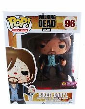 Funko Pop! The Walking Dead Bloody Version Biker Daryl Dixon Vinyl Figure