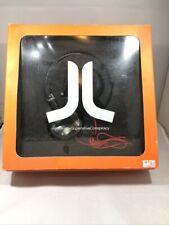 WESC e-8.4 Sitar On Ear Headphones Black & White Tartan Unisex Brand New In Box