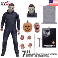 """Halloween Michael Myers Ultimate Scale Action Figure 1:12 Collection 7"""""""