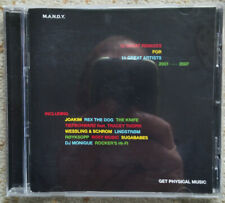 cd M.A.N.D.Y. 12 great remixes for 11 great artists 2001-2007