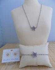 "Brighton ""Starry Night-Star"" Necklace Bracelet & Earrings - 3 piece set"